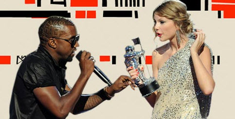 Kanye West at the VMA's